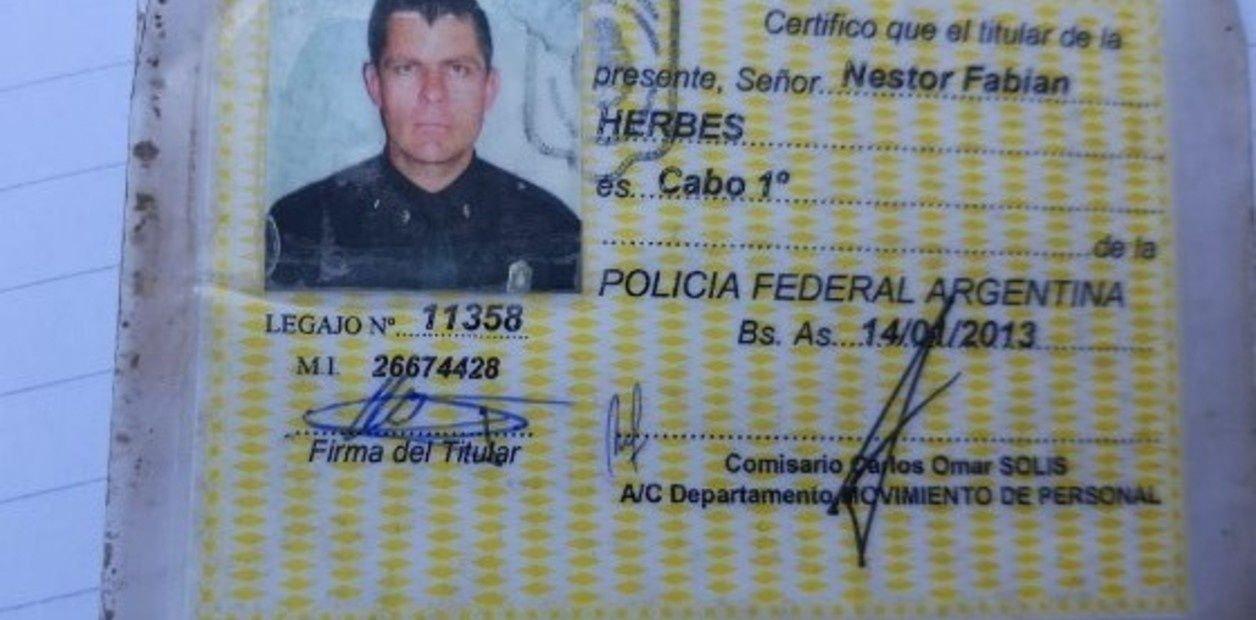 El cabo Herbes fue uno de los detenidos.
