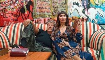 """Moria Casán habló de su amor con un artista plástico: """"No tenemos sexo, fifamos con el cerebro"""""""