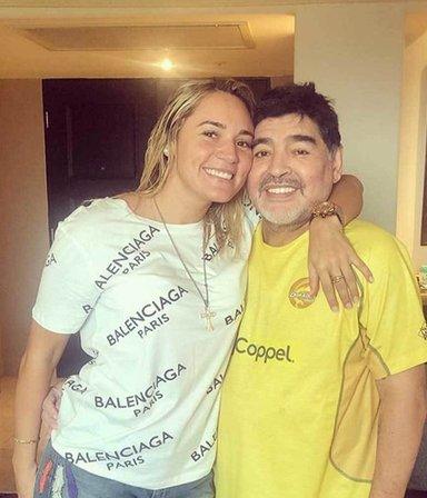Rocío Oliva y la estrategia para pedir una tajada millonaria de la herencia de Maradona